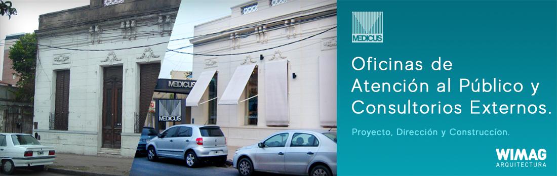 Proyecto, Dirección y Construcción del Centro Médico y Oficinas de MEDICUS Moron