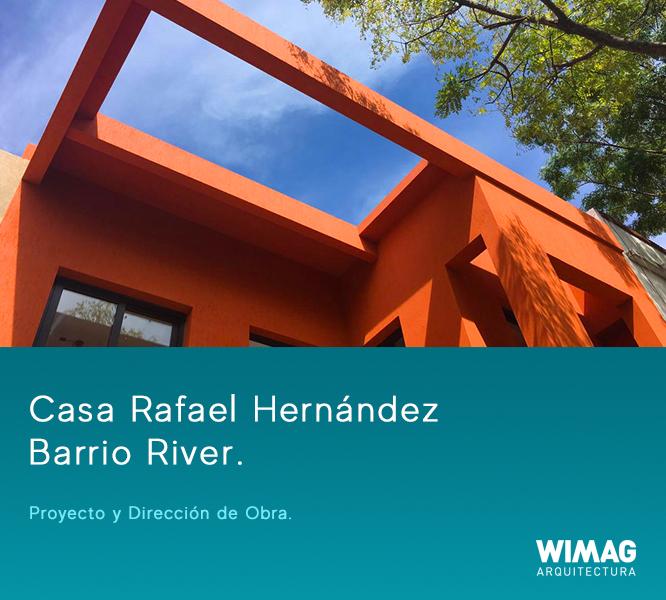 Proyecto y Dirección de Obra. Construccion de Casa Barrio River.