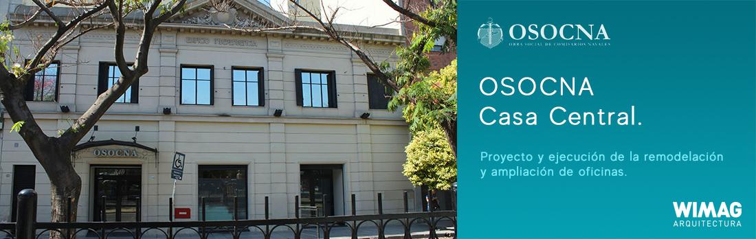 Proyecto y ejecución de la remodelación y ampliación de oficinas. OSOCNA | Casa Central